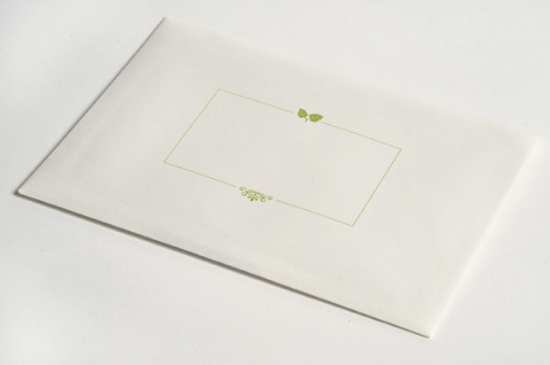 Envelope design for wedding invite