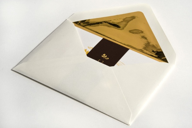 Envelope design reverse - wedding invite