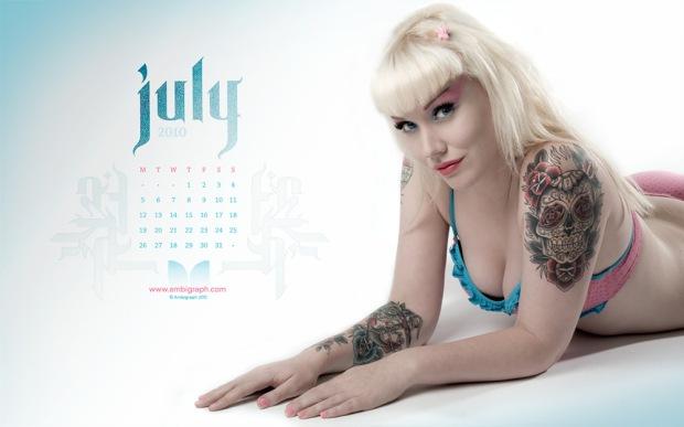 Dermagraph - July Desktop wallpaper photo