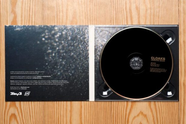 3by3 Cloaks Versions Grain CD inside cover