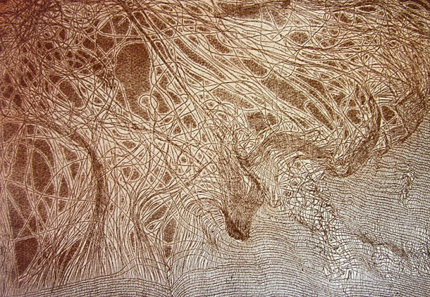 rusty etching