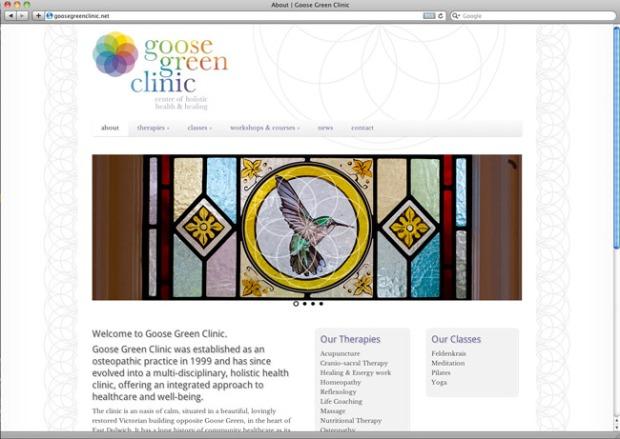 goose green clinic website