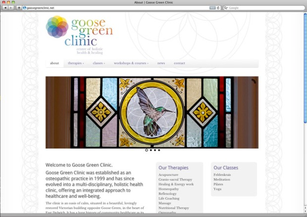 goose green clinic website