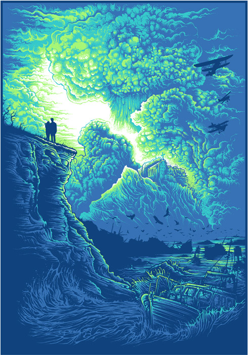 'Radiant Dawn' by Dan Mumford