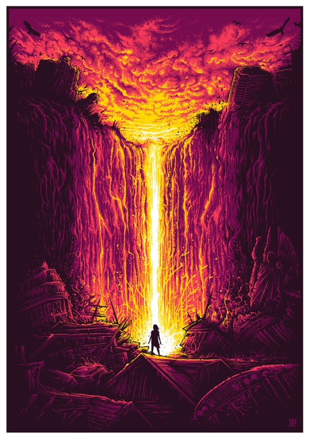 """""""Radiant Dusk"""" by Dan Mumford"""